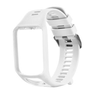 軟矽膠更換腕帶錶帶TomTom Runner 2 3 Spark 3高爾夫球手2冒險家GPS智能手錶配件