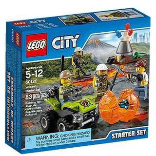 LEGO 60120 火山基礎組合