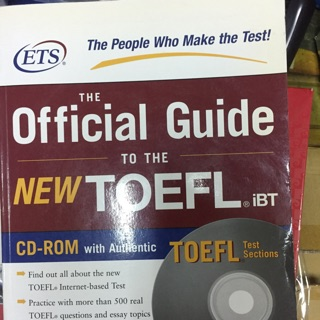 ETS official guide New TOFEL