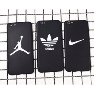 買一送一 三葉草 阿迪達斯 Nike 耐克 iPhone7手機殼 蘋果6s OPPO R9 R9S 潮流品牌 愛迪達 黑