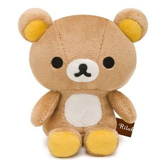 現貨 郵局免運 Rilakkuma 日本 拉拉熊 懶熊 基本款 坐姿 娃娃 玩偶