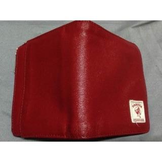 Porter紅色短夾皮夾