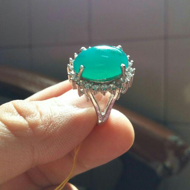 天然藍寶 印尼藍寶 戒指 女戒 大方 6