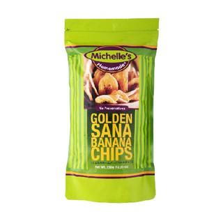 (現貨350g) Michelle's 菲律賓 金黃香蕉乾/香蕉脆片