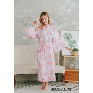 台灣製日式和服浴衣編號006-1