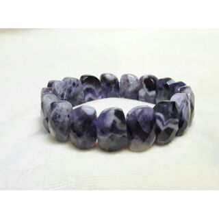 虎牙紫水晶手排