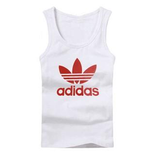 【折扣價200潮牌三葉草Originals Trefoil Logo Vest In White BK7098