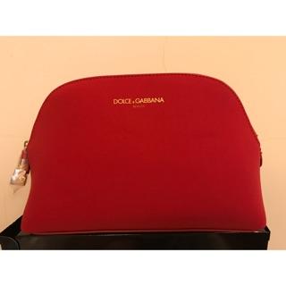 DOLCE&GABBANA (D&G) 紅色化妝包