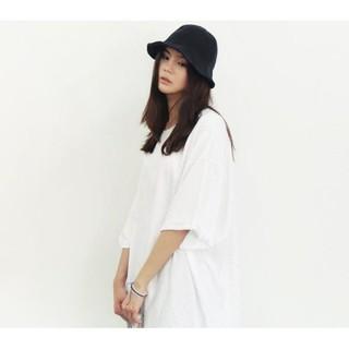 韓系最愛氣質甜美漁夫帽(有鐵絲) 遮陽帽 可摺疊 盆帽太陽眼鏡吊帶褲