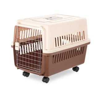 doter寵愛物語,,RU22中大型犬運輸籠(適合體重30kg內)-奶茶布朗