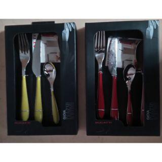 BUGATTI刀叉四件組餐具,兩套一起賣