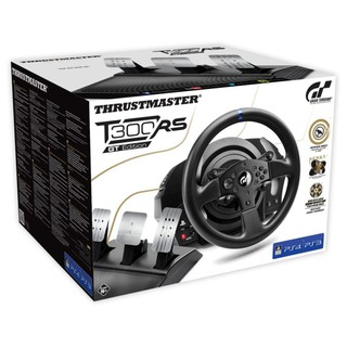 ps4 pc Thrustmaster's t300rs gt賽車方向盤+ap2賽車架(二手)