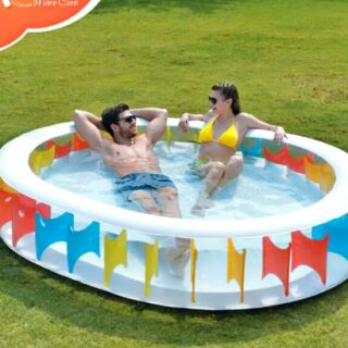 免運費 超大充氣游泳池   加厚 超大家庭保溫 游泳池 水池 泳池