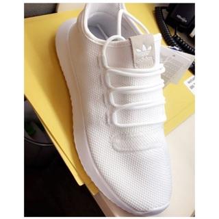 IVY英國代購Adidas Tubular Shadow 全白 純白 小椰子全白tubular全白