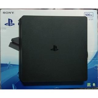 PS4 SLIM 2017A 500GB 附原廠盒裝 9成新