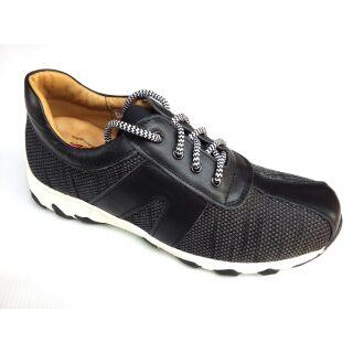 製zobr 路豹真皮休閒布鞋