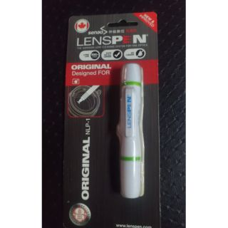 LENSPEN NLP1 NLP-1 碳微粒鏡頭拭鏡筆 公司貨 鏡頭筆 清潔筆 拭淨筆 毛刷加碳筆