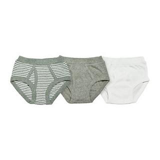 美國burts bees baby100%有機棉內褲三件組