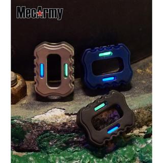 MecArmy KPT1 鈦EDC飾品吊墜(帶氚管)/單款販售
