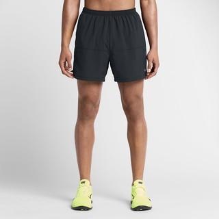 "CIGANIKE 5"" DISTANCE SHORT 慢跑褲 運動短褲 黑 短 有內襯 642805-011"