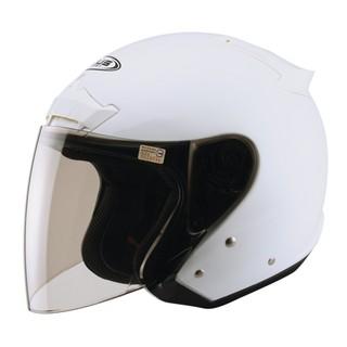 ☆小齊安全帽☆ZEUS ZS-609 珍珠白 內襯全可拆洗 半罩安全帽
