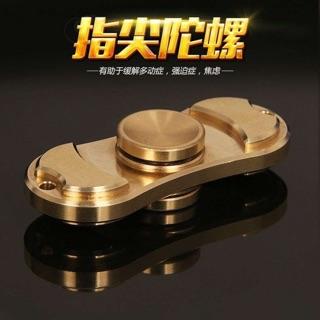 衝評價 HandSpinner 指尖螺旋指間陀螺Torqbar Brass純銅EDC玩具 工廠直出