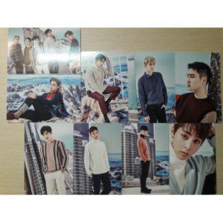 【售】EXO 2017年曆 小卡 桌曆