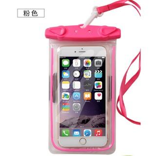 手機防水袋海邊玩水泡溫泉必備可放6吋以下手機