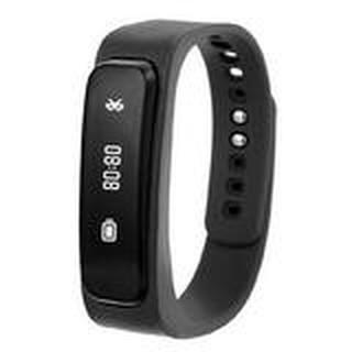 A8智能手環手錶安卓蘋果計步器鬧鐘藍牙耳機耳塞式無線通話4.0黑色