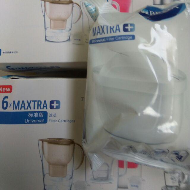 全新 第3代 BRITA MAXTRA+ 系列濾水壺專用濾芯專櫃公司貨 1入裝 自用 成本