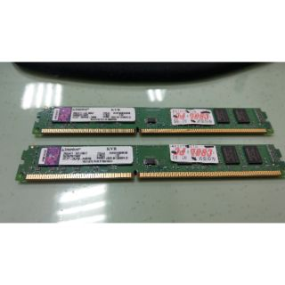 金士頓 DDR3 1333 4G記憶體 8G