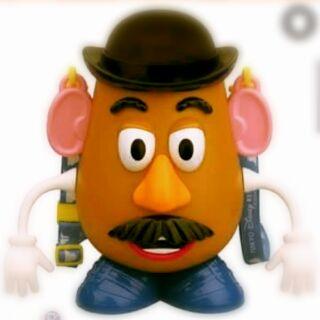 迪士尼彈頭先生爆米花桶