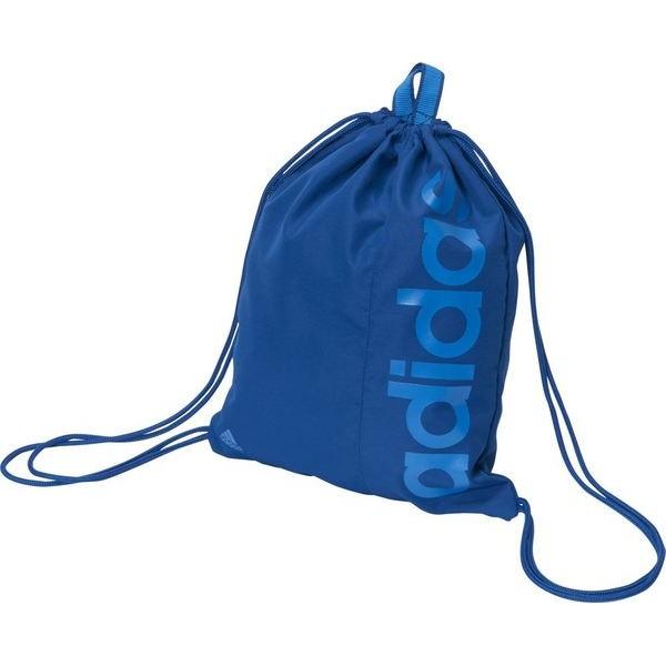 ADIDAS RUN GYM BAG 背包 束口袋 藍 【運動世界】AJ9973
