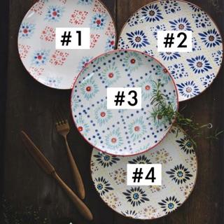 荷蘭 Pols Potten 復古幻彩拼花瓷盤