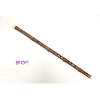 中國笛 大降B紫竹笛