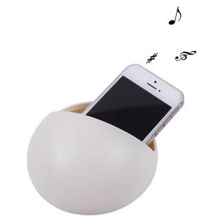 【手機擴音座】創意圓形 手機支架 免插電 擴音架 手機座 擴音器