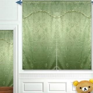 窗簾-(穿管式)雙層緹花窗簾 寬150-長120cm