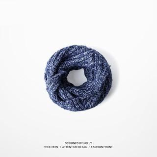【Reborn潮館】ulzzang日系文藝嘻哈滑板死飛原宿復古情侶款純棉毛線大圍巾男女