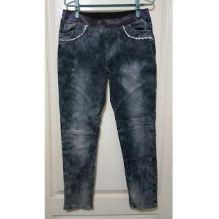 二手牛仔窄管褲(XL)