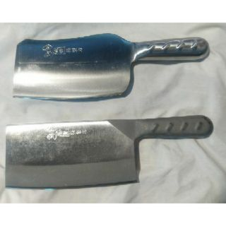 台灣手工製 金門刀 砲彈鋼 大剁刀 剁骨刀 剁雞 剁大骨 一體成型 不鏽鋼
