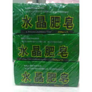 南僑水晶肥皂200g 4入