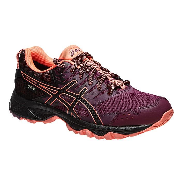 樂買網 ASICS 女款 越野慢跑鞋 GORE TEX 防水 SONOMA 3系列 T777N-3290 贈運動腿套