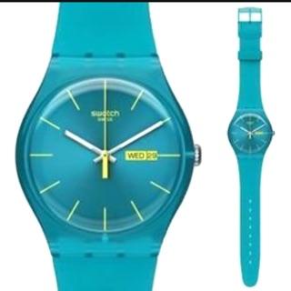 Swatch土耳其藍手錶
