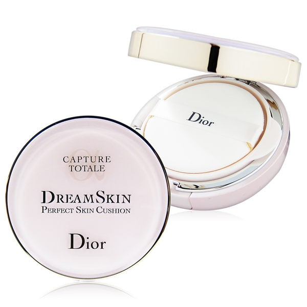 Dior 迪奧 夢幻美肌氣墊粉餅 (空盒x1入+粉蕊15g x2入) #012粉膚