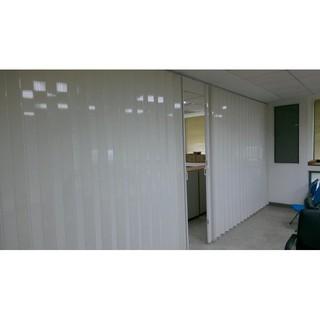 台中活動拉門~塑膠拉門~折疊門~PVC折疊門~塑膠門~推拉門~伸縮拉門