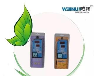 威諾WN30/ 雙液晶螢幕溫度控制器,支持3000瓦以下220v的純鈦加熱棒