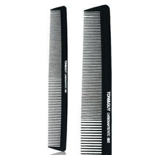 碳纖維美髮專用密齒寬齒扁梳 抗靜電 高密度 耐熱 耐藥劑