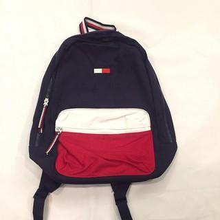 Tommy Hilfiger 經典logo 帆布後背包