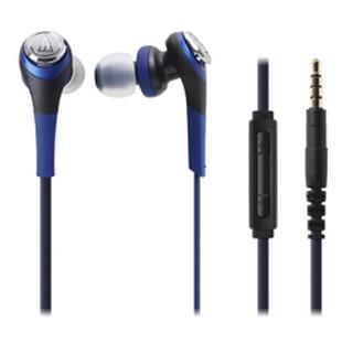 【又昇樂器 . 音響】audio-technica 鐵三角 CKS550i 藍色款 耳塞式 耳機 iOS 專用 原廠保固