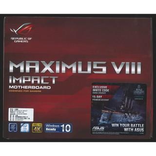 Asus Maximus VIII Impact M8I LGA1151